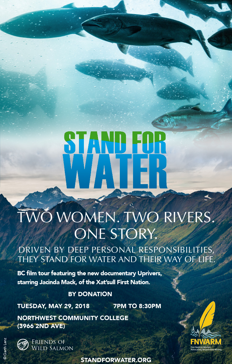 UpRivers Film Screenings Coming to Smithers, Hazelton & Terrace